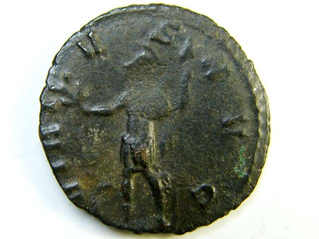 bronze antoniniani of Claudius II (268-270 A  D)     AC161