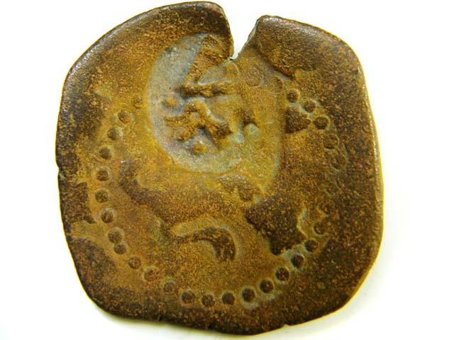 16th-17th century Spanish bronze  code  ac 166