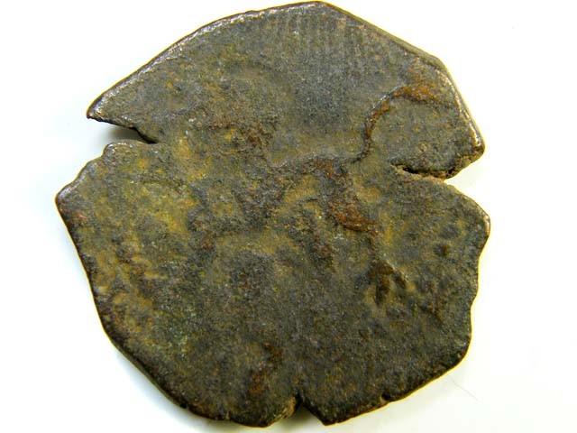 16th-17th century Spanish bronze  code  ac 173