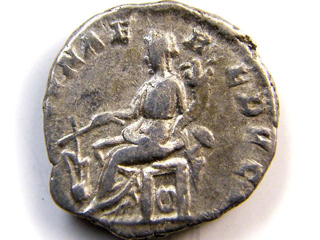 Septimius Severus. . FORTVNAE REDVCI. Rome 196-97AD AC 180