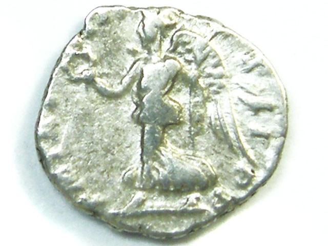Septimius Severus AD 193-211 Silver Denarius  AC202
