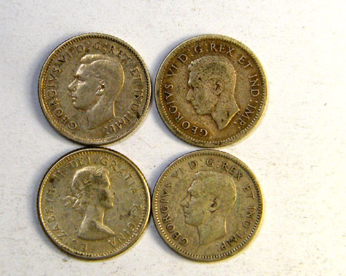 SILVER COINS  .800  SILVER CANADA 1.50 PER GRAM OP 229
