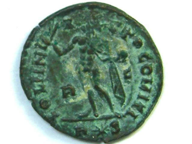 Lot 1, Licinius I SOLI INVICTO COMITI Rome 314 AD AC219