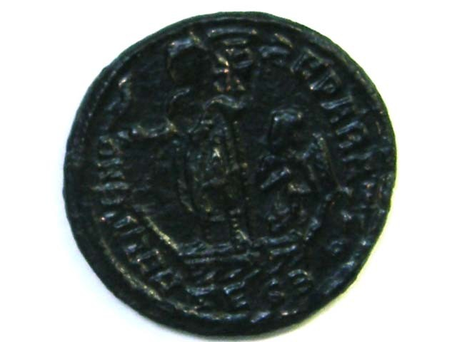 Lot 1,Constans Thessalonica 348-350 AD AC224
