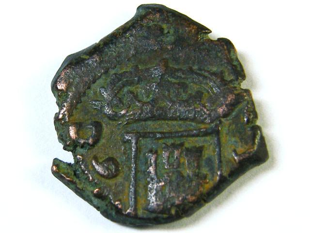 Spanish Maravedis Cob 17th Centuary Philip II, III, I  AC242