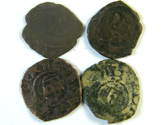 ANCIENT SPAIN L4, NAVARRE FERDINAND II BILLON NEGRETE AC251