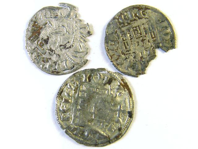 ANCIENT SPAIN L1, CASTILE & LEON NINE DIN 1284-1295 AC255