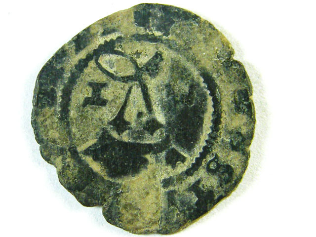 ANCIENT SPAIN L1, BILLON BLANCA FERNINAND & ISABELLA AC260