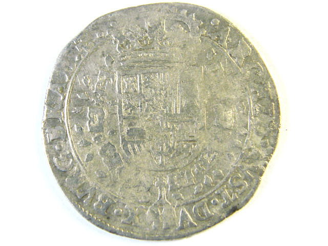 ANCIENT SPAIN L1, PHILIP IV 1/4 PATAGON AC265
