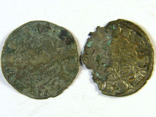 TWO ANCIENT SPAIN L1, CASTILE & LEON BILLION NOVEN AC272