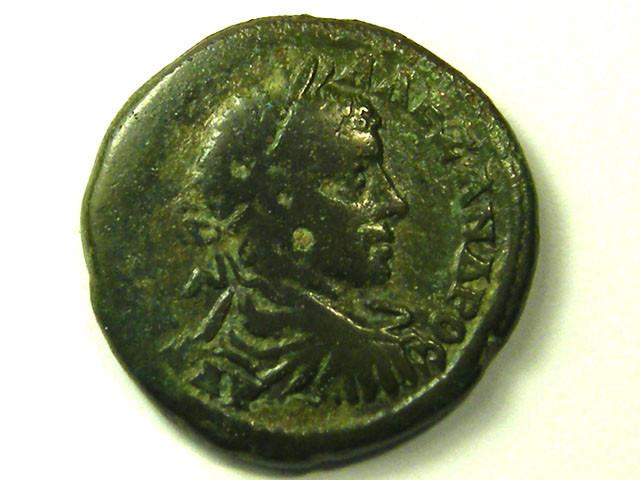ANCIENT ROMAN PROVINCIAL L1, SEVERUS ALEXANDER COIN AC300