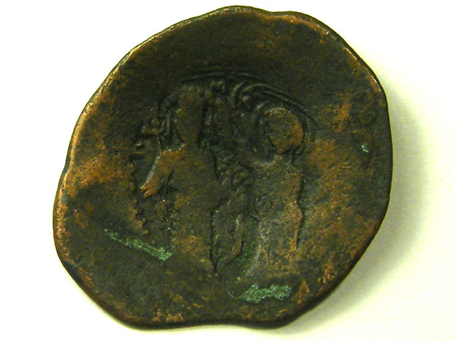 ANCIENT BYZANTINE L1, MANUEL BILLION TRACHY COIN C309
