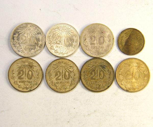 SILVER  ...720 SILVER WORLD COINS .$1.00 PER GRAM  OP 240