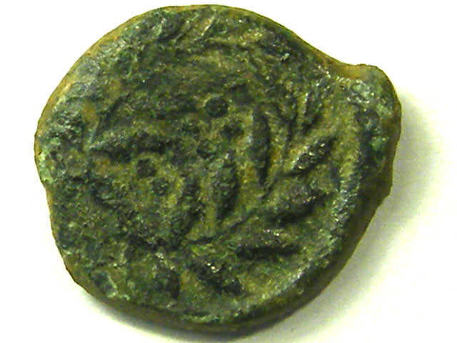 ANCIENT GREEK L1, SICILY BRONZE HEMILITRON COIN AC312