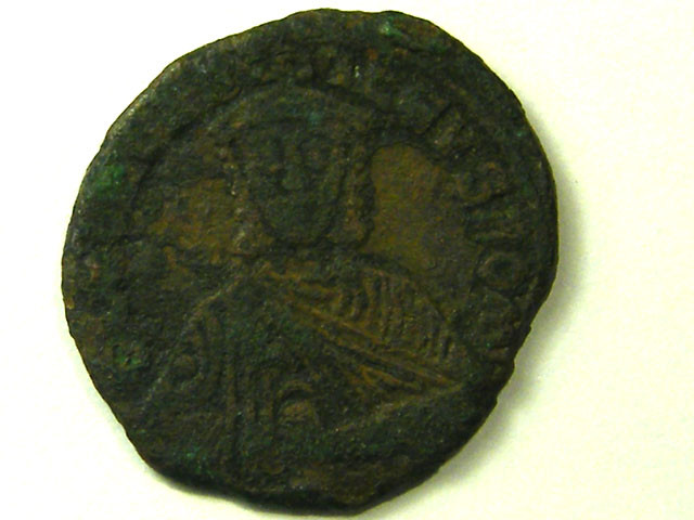 ANCIENT BYZANTINE L1, LEO VI FOLLIS COIN AC328