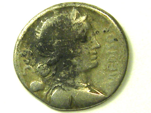 ANCIENT ROMAN IMPERIAL L1, MENSOR DENARIUS COIN AC320