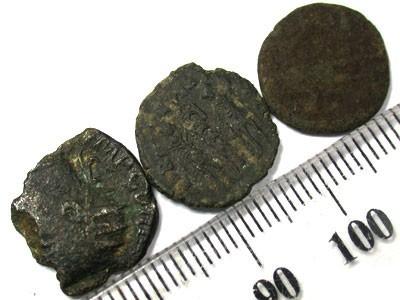PARCEL OF ANCIENT COINS  T 52