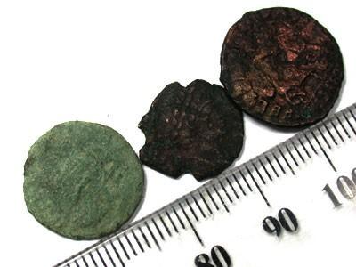 PARCEL OF ANCIENT COINS  T 54