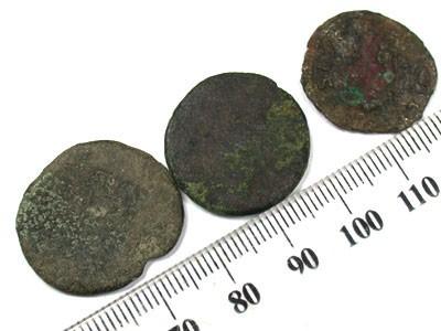 PARCEL OF ANCIENT COINS  T 61