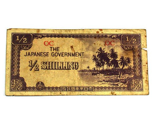 JAPANESE INVASION MONEY 1943 FOR AUSTRALIA   T 183