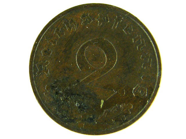 GERMANY LOT 1, 2 MARKS 1937 COIN  T517