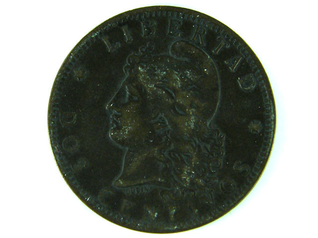 OLD ARGENTINIA COIN 1891   T 370