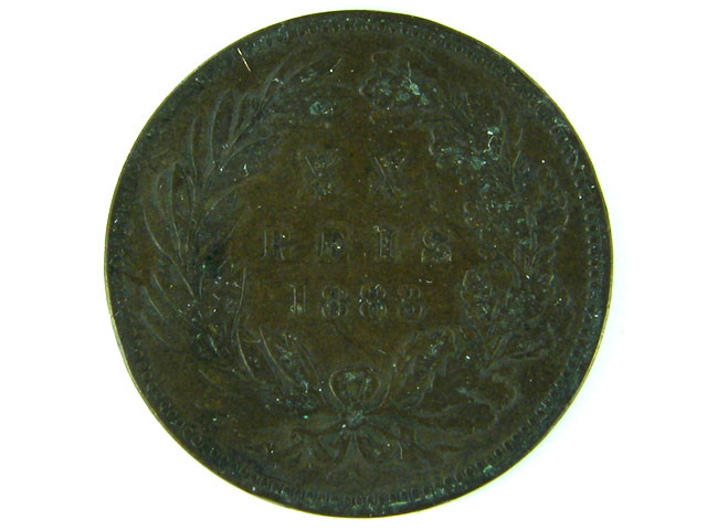 OLD COIN PORTUGAL 1883  T 373