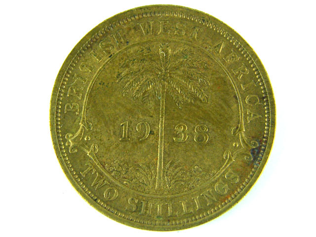 BRITISH EAST AFRICA  1938 TWO SHILLINGS  T 375