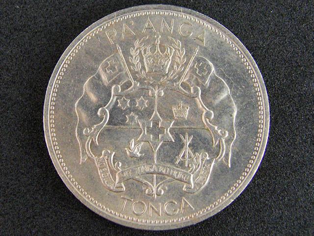 LARGE TONGA COIN 1976    T 414