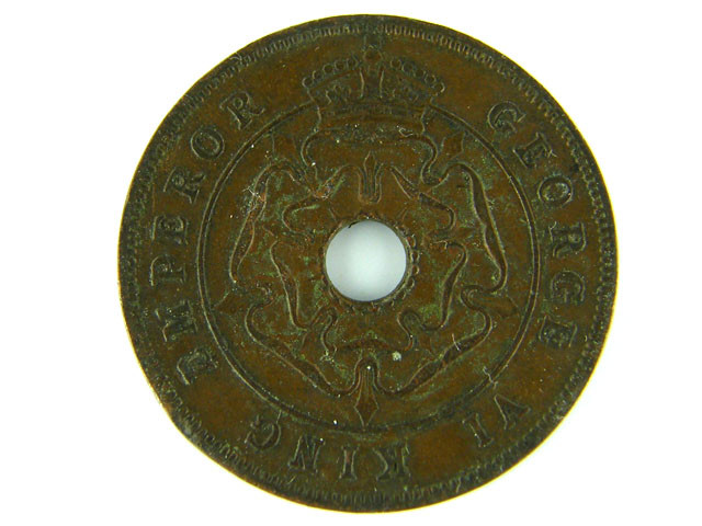 SOUTH RHODESIA PENNY 1947 VF      T 488