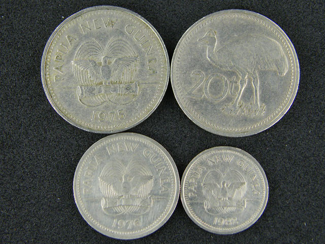 FIJI FOUR COINS 1975 TO 1982