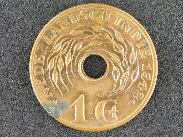 NETHERLAND EAST INDIES LOT 1 ,ONE CENT COIN 1942 T520