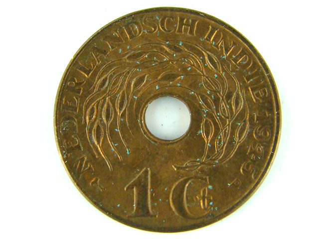 NETHERLAND EAST INDIES LOT 1 , ONE CENT 1942 COIN T523
