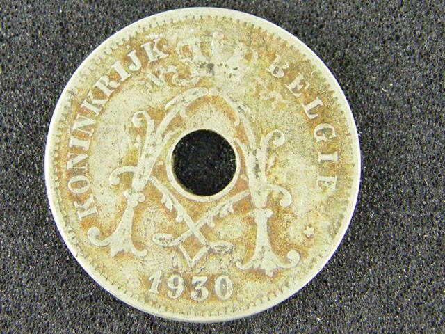 BELGIUM LOT 1, 1930 TEN CENT COIN T554
