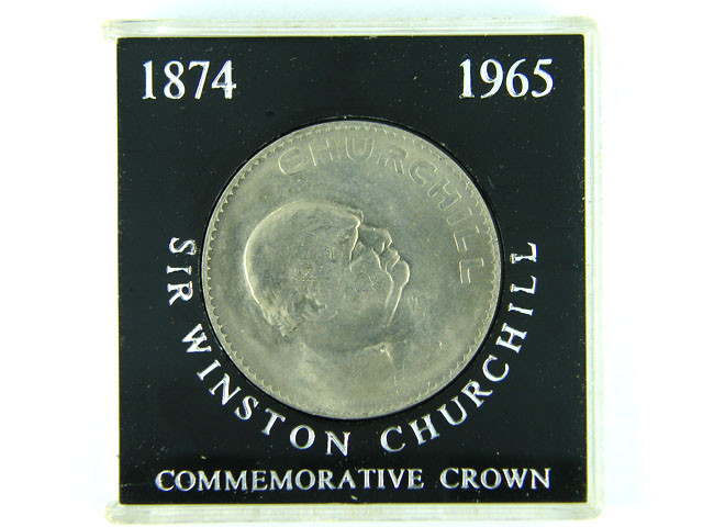 COMMEMORATIVE CROWN LOT 1, SIR SINSTON CHURCHILL COIN T560