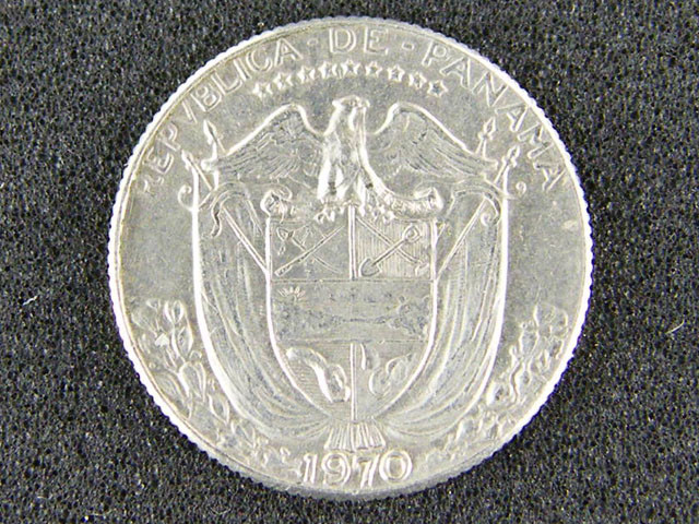 PANAMA LOT 1, 1970 COIN T581