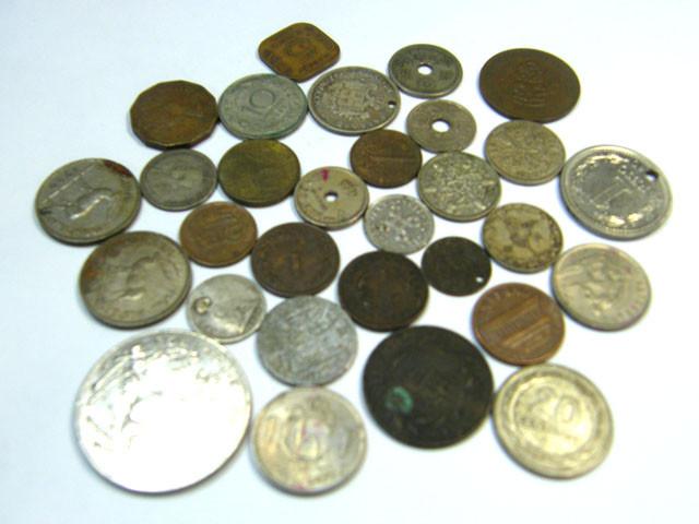 WORLD COINS LOT 30,  WORLD COINS T630