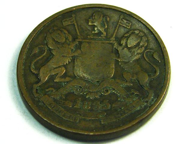 British Empire India Lot 1 Half Anna 1835 Coin T663