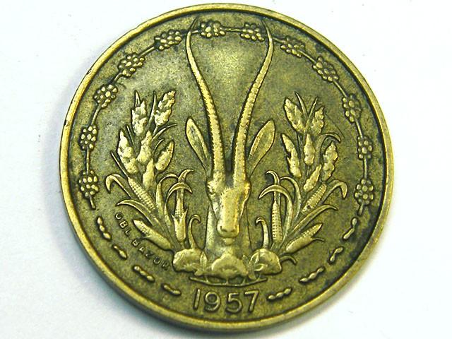 FRECH TOGO 10 FRANCS 1957  ,  COIN T12