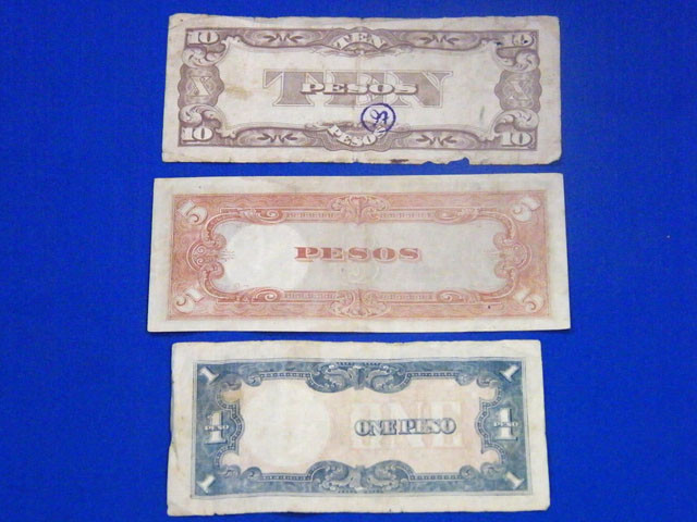 JAPANESE OCCUPATION NOTES  OF PHILIPPINES   T 845