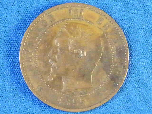 FRANCE L1, 1835 DIX CENTIMES COIN T933
