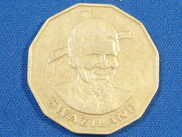 SWAZILAND L1, FIFTY CENT 1981 COIN T985