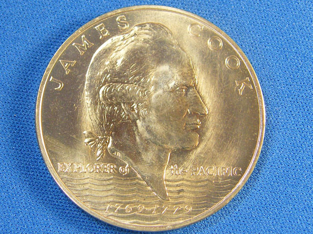 WESTERN SAMOA L1, ONE DOLLAR ROYAL JUBLIEE 1977 COIN T996