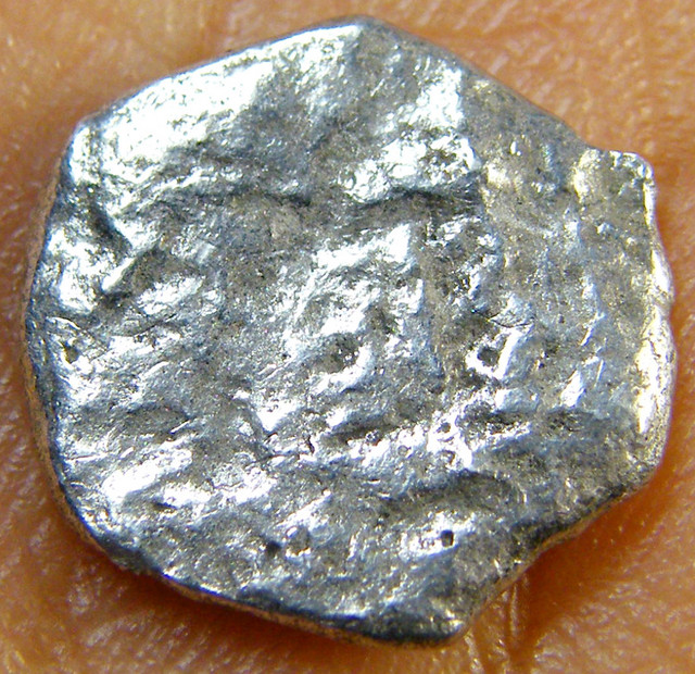 SILVER SPANISH REALE COIN 1715  T1014