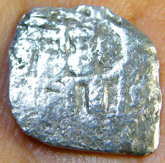 SILVER SPANISH REALE COIN 1715  T1017