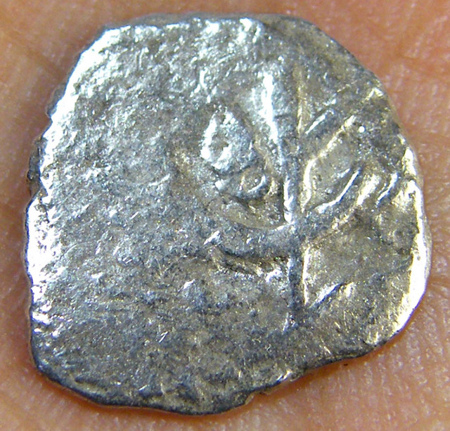 SILVER SPANISH REALE COIN 1715 T1020