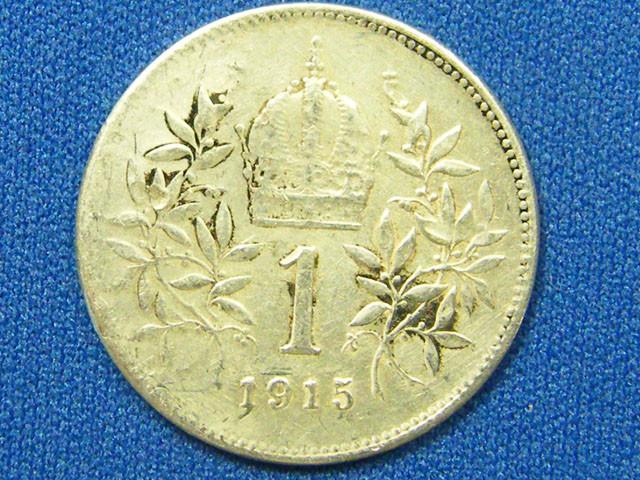 AUSTRIA COIN L1, 1915 ONE KORONA COIN T1096