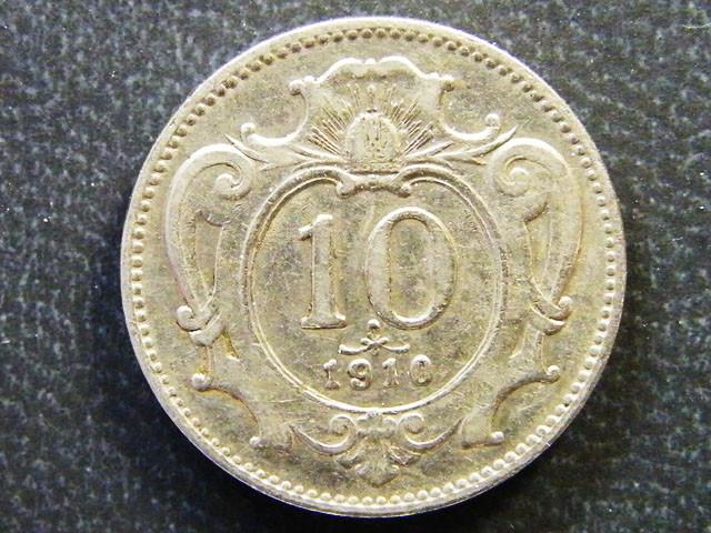 AUSTRIA COIN L1, 1910 TERN HELLER COIN T1166