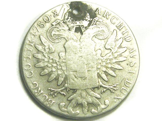 AUSTRIA COIN L1, 1780 MARIA THERESA THALER COIN T1200