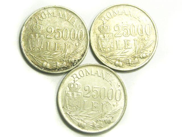 ROMANIA COIN L3, 1946 25000 LEI COINS T1201